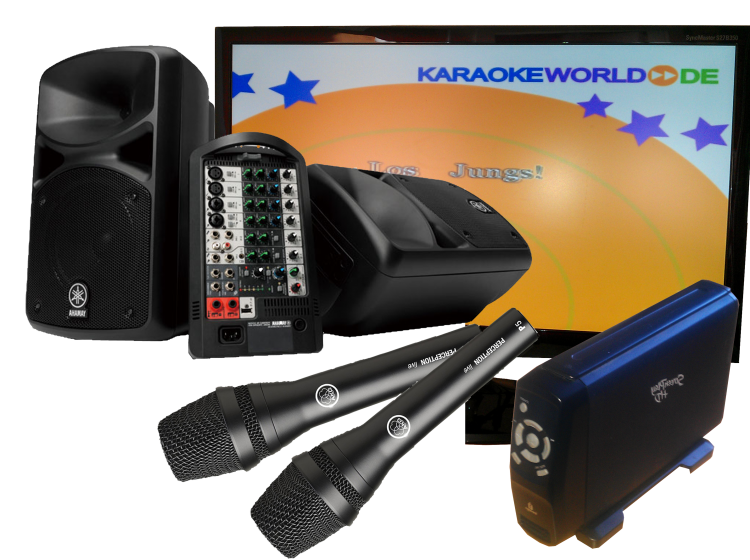 karaoke partyanlage 2