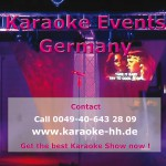 Karaoke Anmeldung Vorderseite