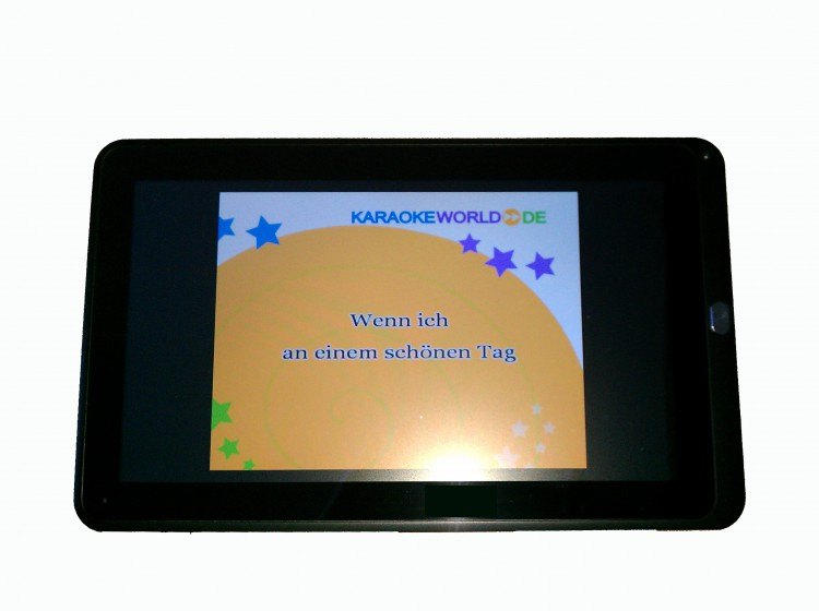 "Karaoke Tablet 10,1"" Tquchscreen"