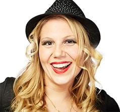 Karaoke Moderatorin Gina